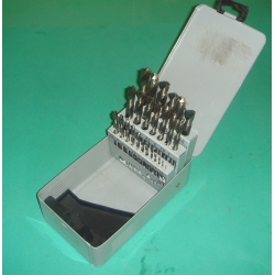DRILL SET 1.0 - 13mm  (x  .5mm)