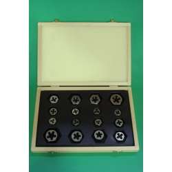 "UNF / UNC Combination  Box Set  DIE NUTS 1/8"" to 1/2"" (14 sizes)"